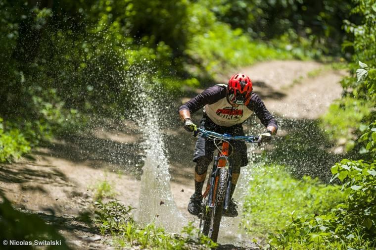 rutas y senderos para bicicletas de montaña
