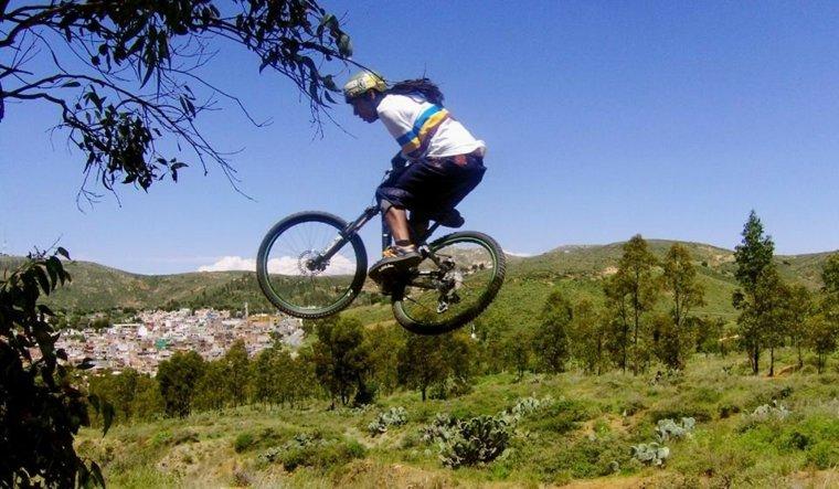 senderos para bicicletas de montaña por Mexico
