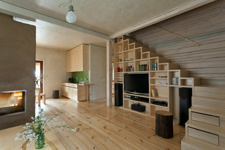 suelo-y-muebles-de-madera