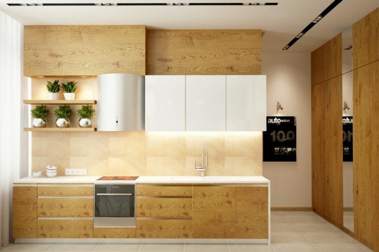 muebles de madera de roble