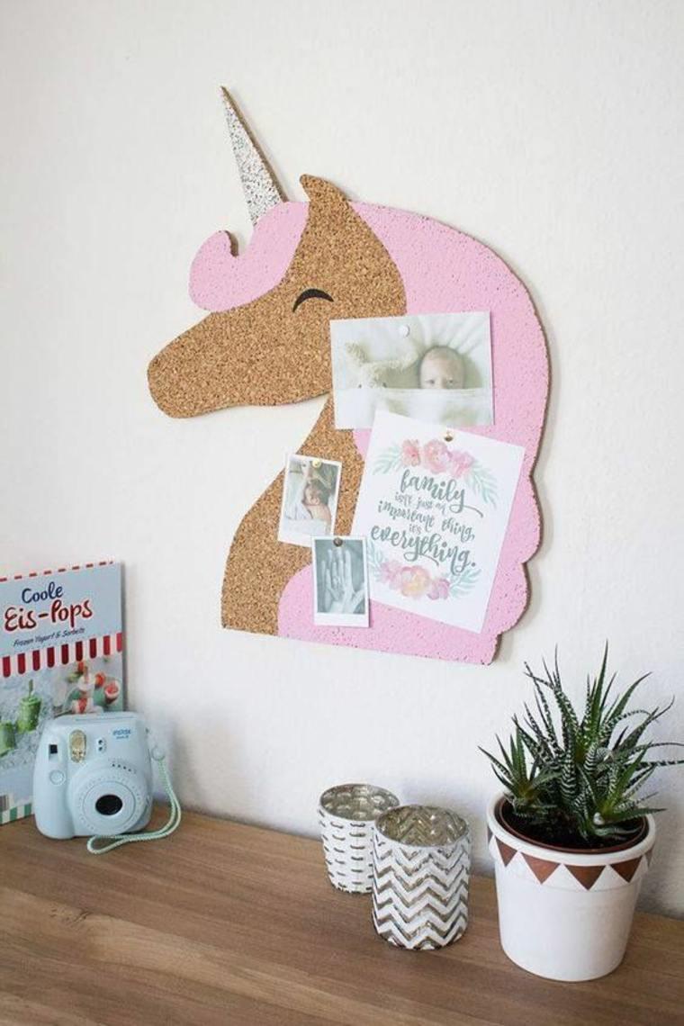 tablon de anuncios unicornio