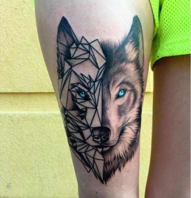 tatuaje lobo-significado-piel