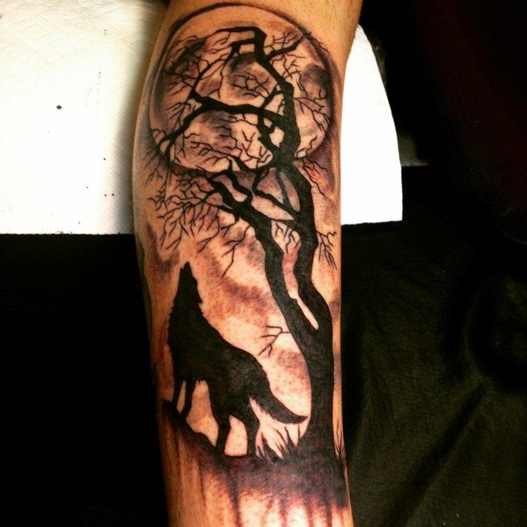 tatuajes de lobos pequenos-significado