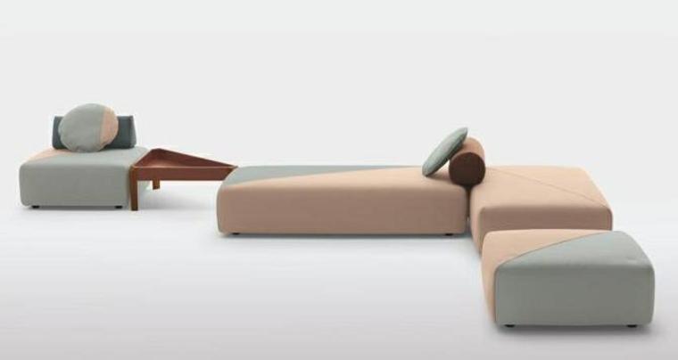 Los sofás se expanden y se extienden