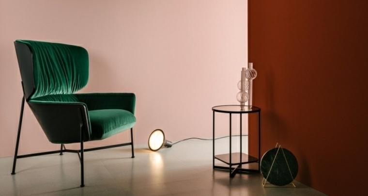 sillón verde