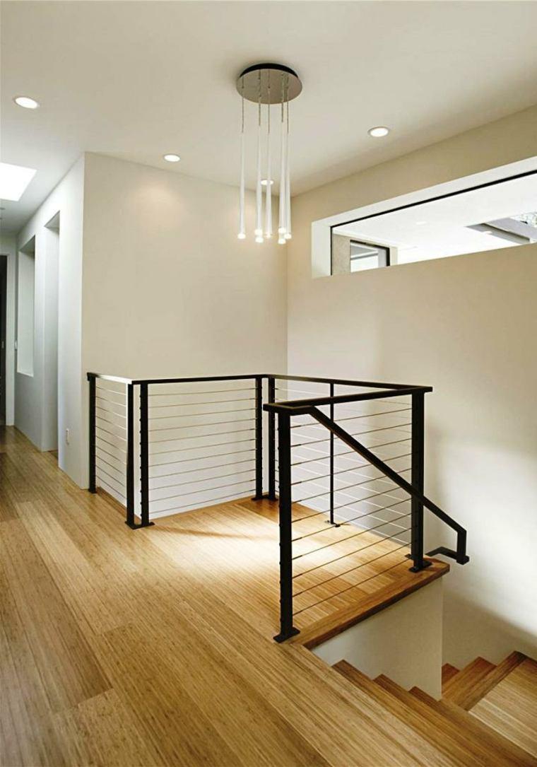 Escaleras modernas de interior c mo elegir las - Barandillas para escaleras interiores modernas ...