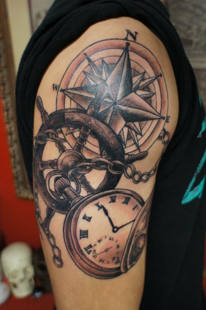 Tatuajes Marinos Creativos Llenos De Estilo Y Significado