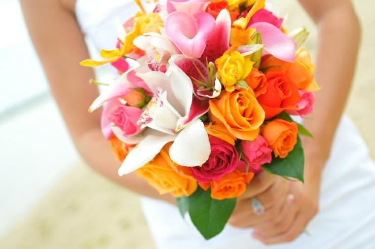 tipos de flores para bodas-colores