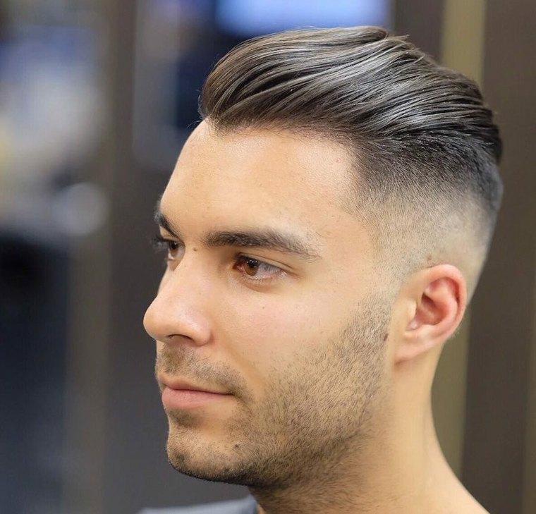 Peinados Modernos Para Hombres Dapper Y Hipster Para El