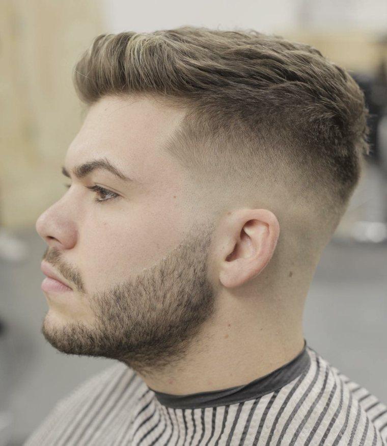 Peinados Modernos Para Hombres Dapper Y Hipster Para El 2018 - Peinados-modernos-para-hombres
