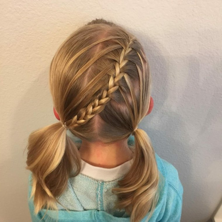hair style for toddler girl cortes de pelo de moda para ni 241 as tendencias en 2018 5631 | tranzas y coletas
