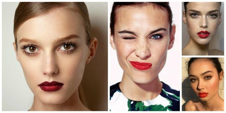 trucos para maquillarse-labios-rojo
