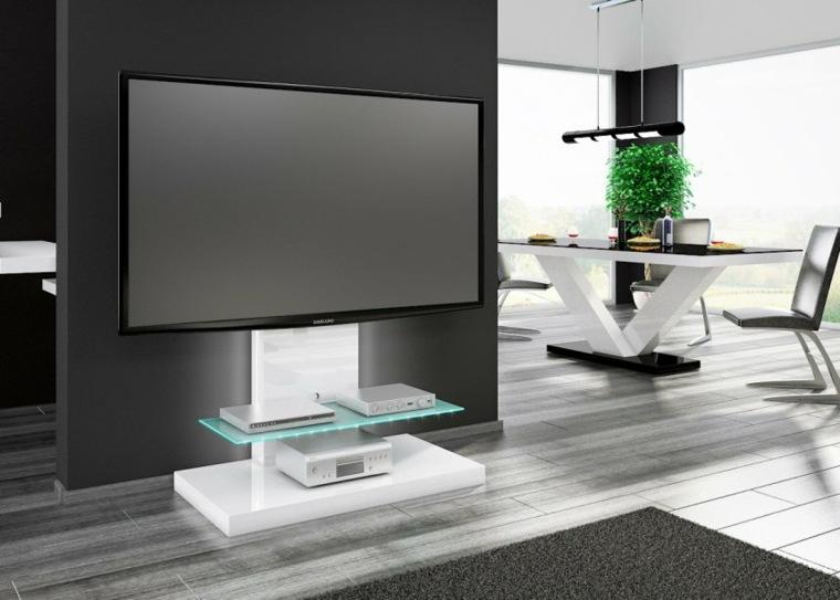 unidad de tv futurista