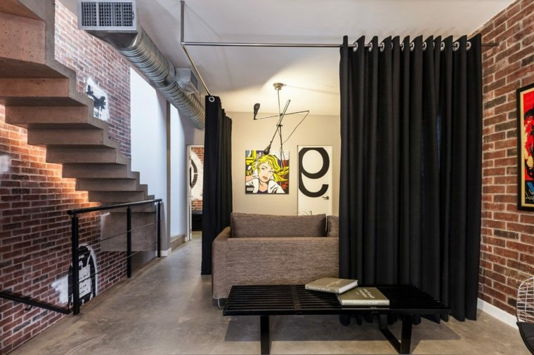 Como hacer divisiones para separar ambientes en tu hogar - Cortinas separadoras de ambientes ...