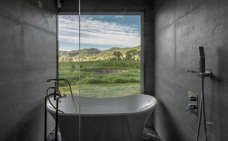 yurta baño