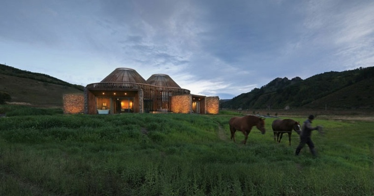 yurta paisaje-pastoral