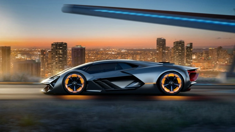 automovil Lamborghini Terzo Millennio