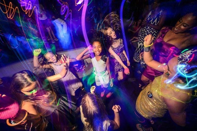actividades recreativas para niños bailar