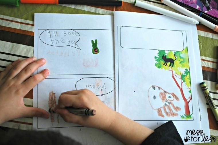 actividades recreativas para niños-dibujar