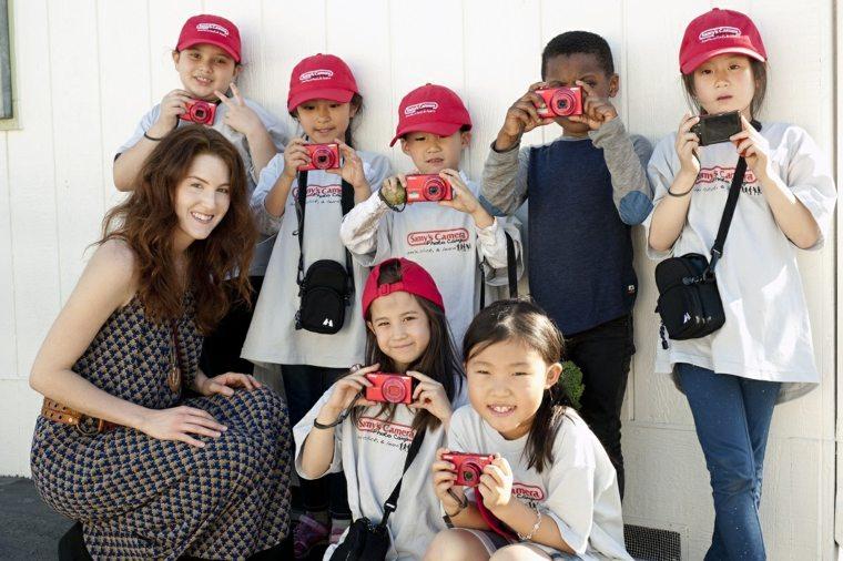 actividades recreativas para niños fotografiar