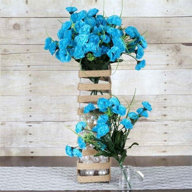 adornos florales-plantas-artificiales-interiores