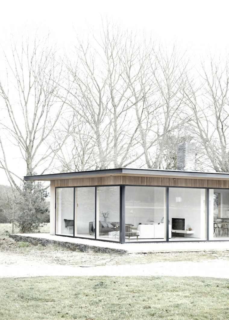 características de la casa minimalista