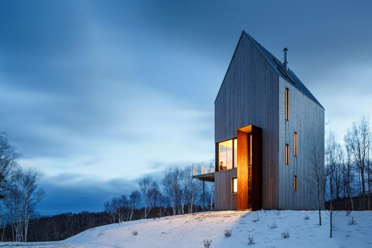 cabana arquitectura moderna