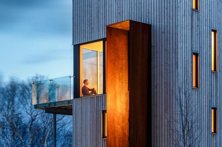 cabaña arquitectura moderna