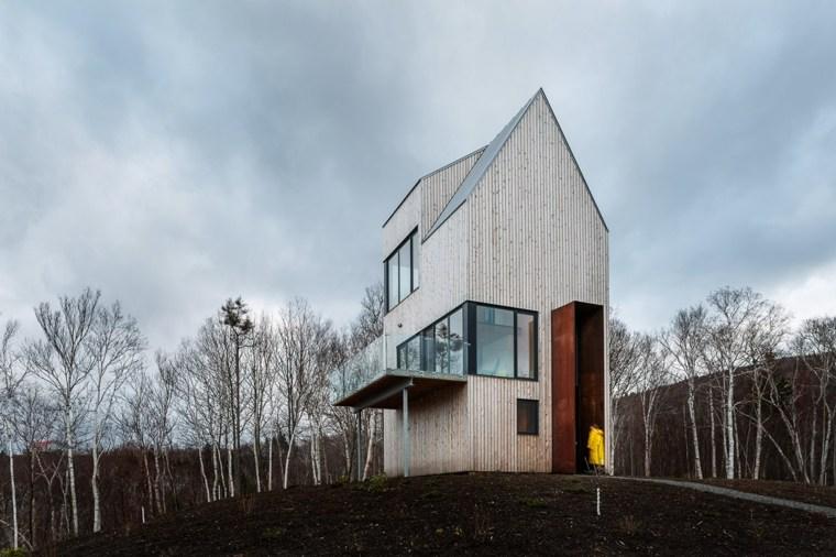 diseño de cabaña arquitectura moderna