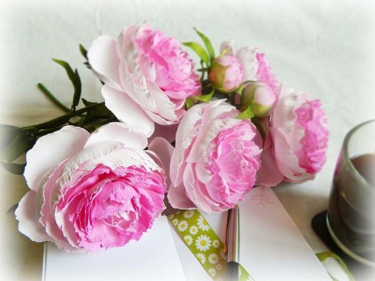 arreglos florales-color-rosa-bodas