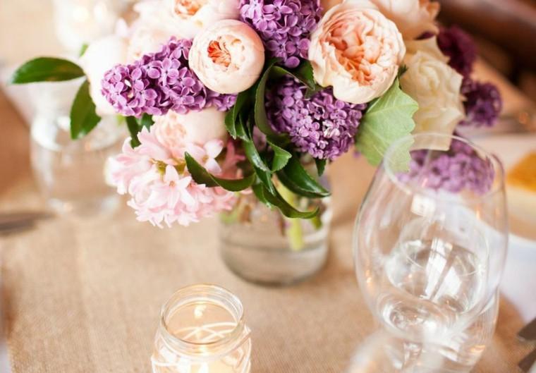 arreglos florales-mesas-bodas