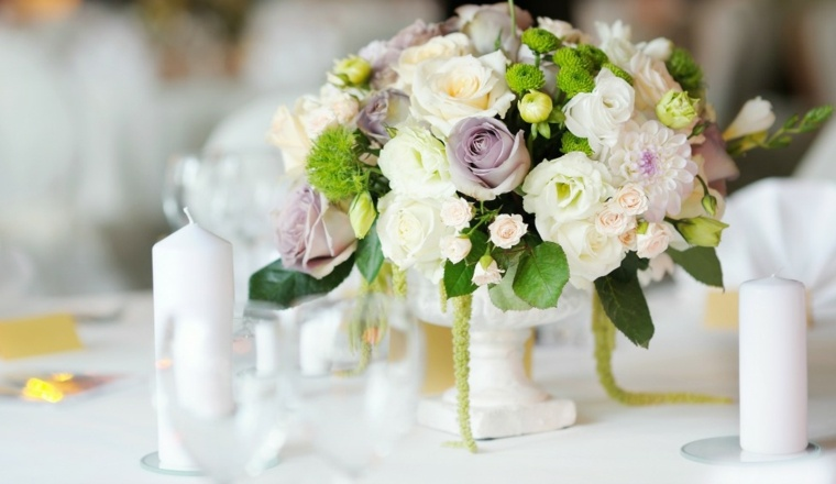 arreglos florales modernos-decorar-bodas