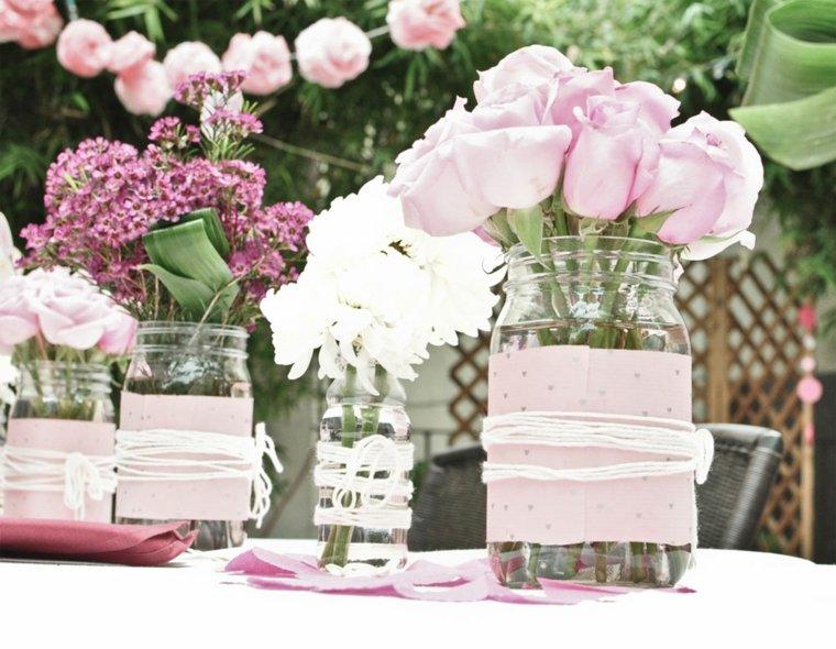 arreglos florales-rosas-bodas