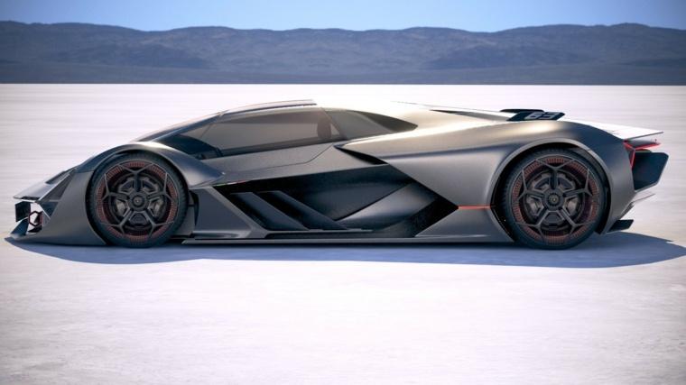impresionante nuevo Lamborghini Terzo Millennio