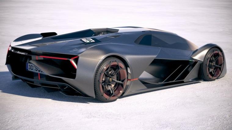 impresionante diseño del nuevo Lamborghini Terzo Millennio