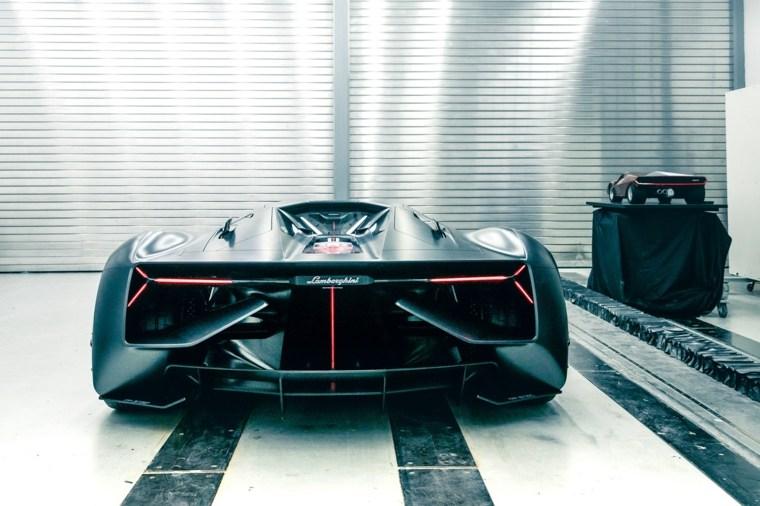 diseño de Lamborghini Terzo Millennio