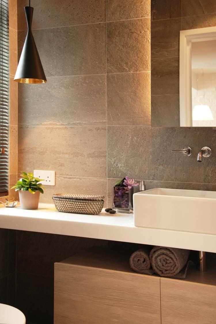 baños modernos paredes led