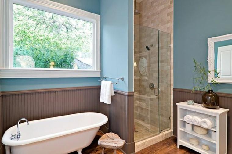 baños pintura-azul