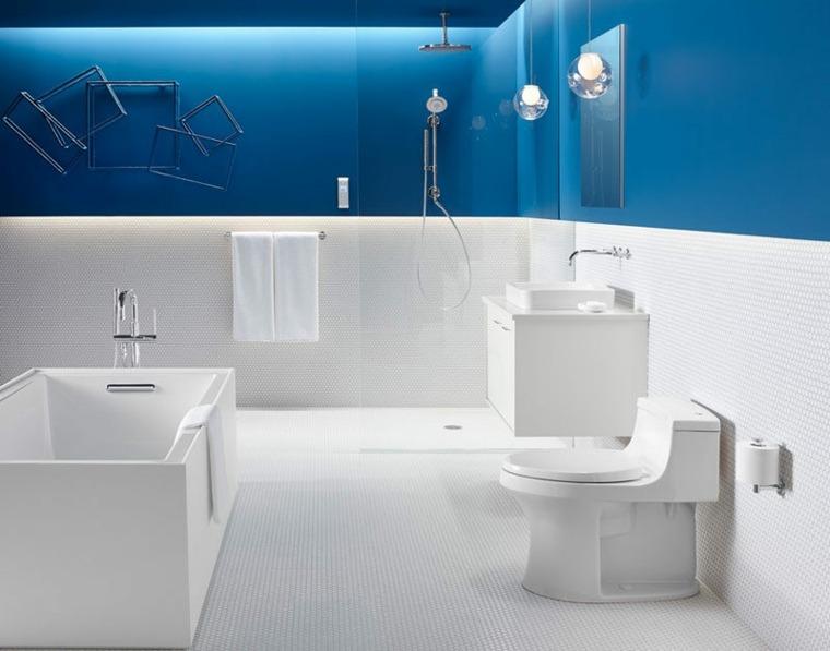 banos pequenos modernos-decorados-azul