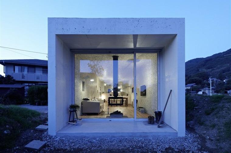 originales diseños de casas minimalistas de una planta
