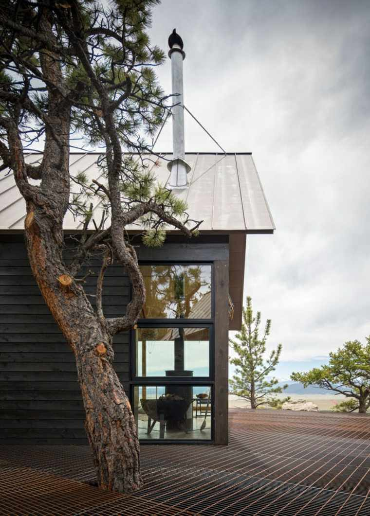 bosque variante cabanas modernas