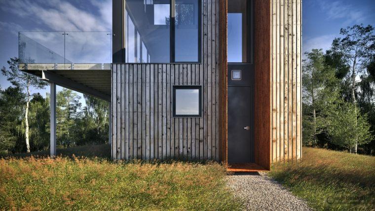 original cabaña arquitectura moderna