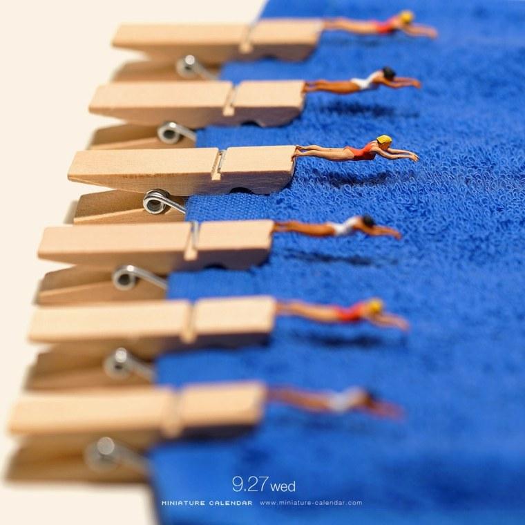 calendarios en-miniatura-piscina