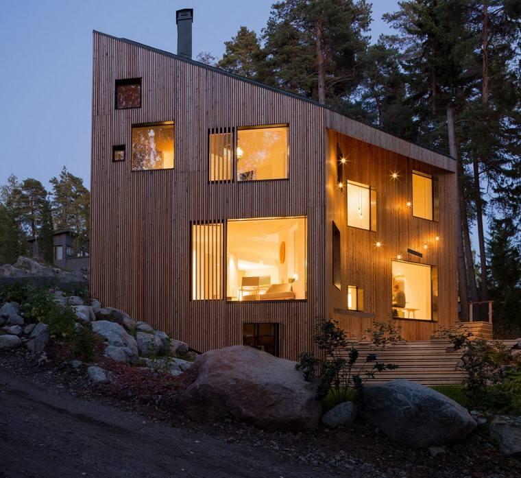 casa-madera-iluminacion-estilo-moderno