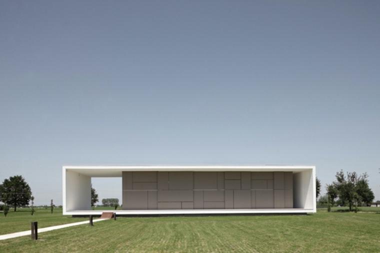 diseño de casa moderna estilo minimnalista