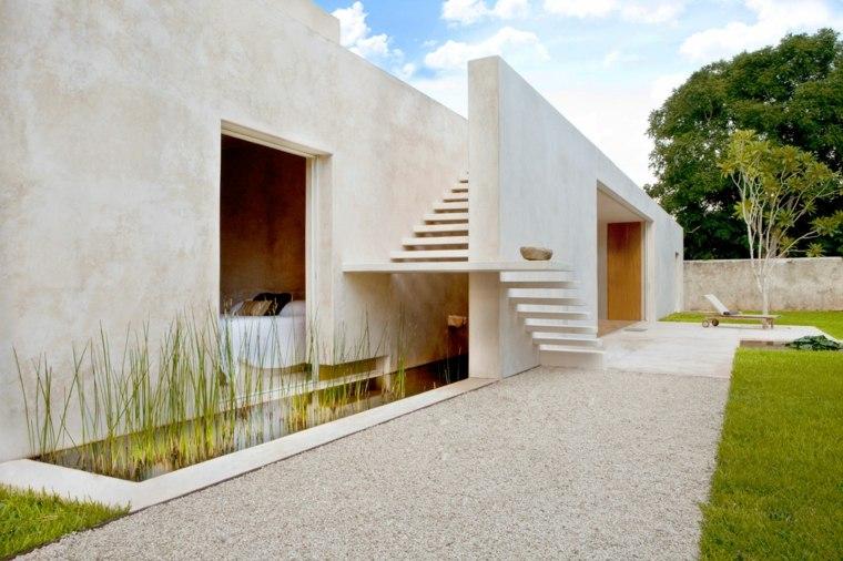 Casas minimalistas de una planta diseos modernos y sofisticados