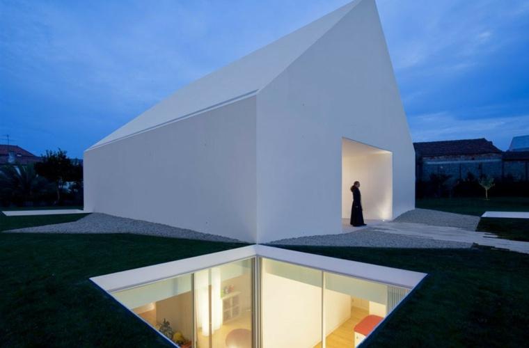 Las características del diseño de la casa minimalista