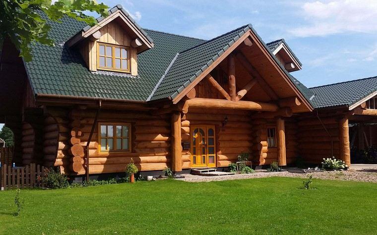 casas de madera-estilo-rustico-ideas