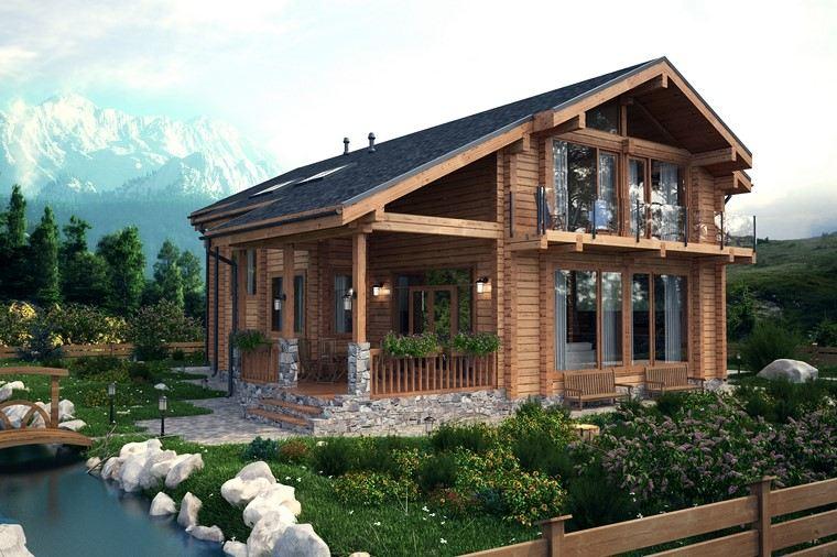 casas de madera-opciones-proyectos-originales