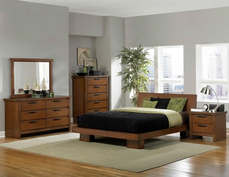 casas interiores-muebles-dormitorios